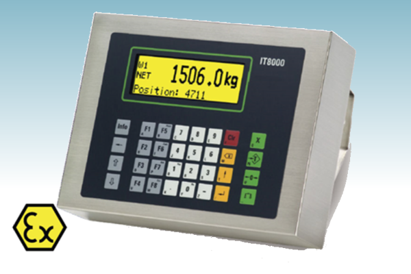 IT8000Ex W&M Approved Weighing Terminal